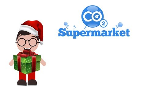 Photo of Christmas gift voucher from CO2 Supermarket