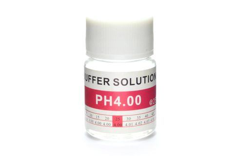 pH Controller pH4 buffer test calibration solution