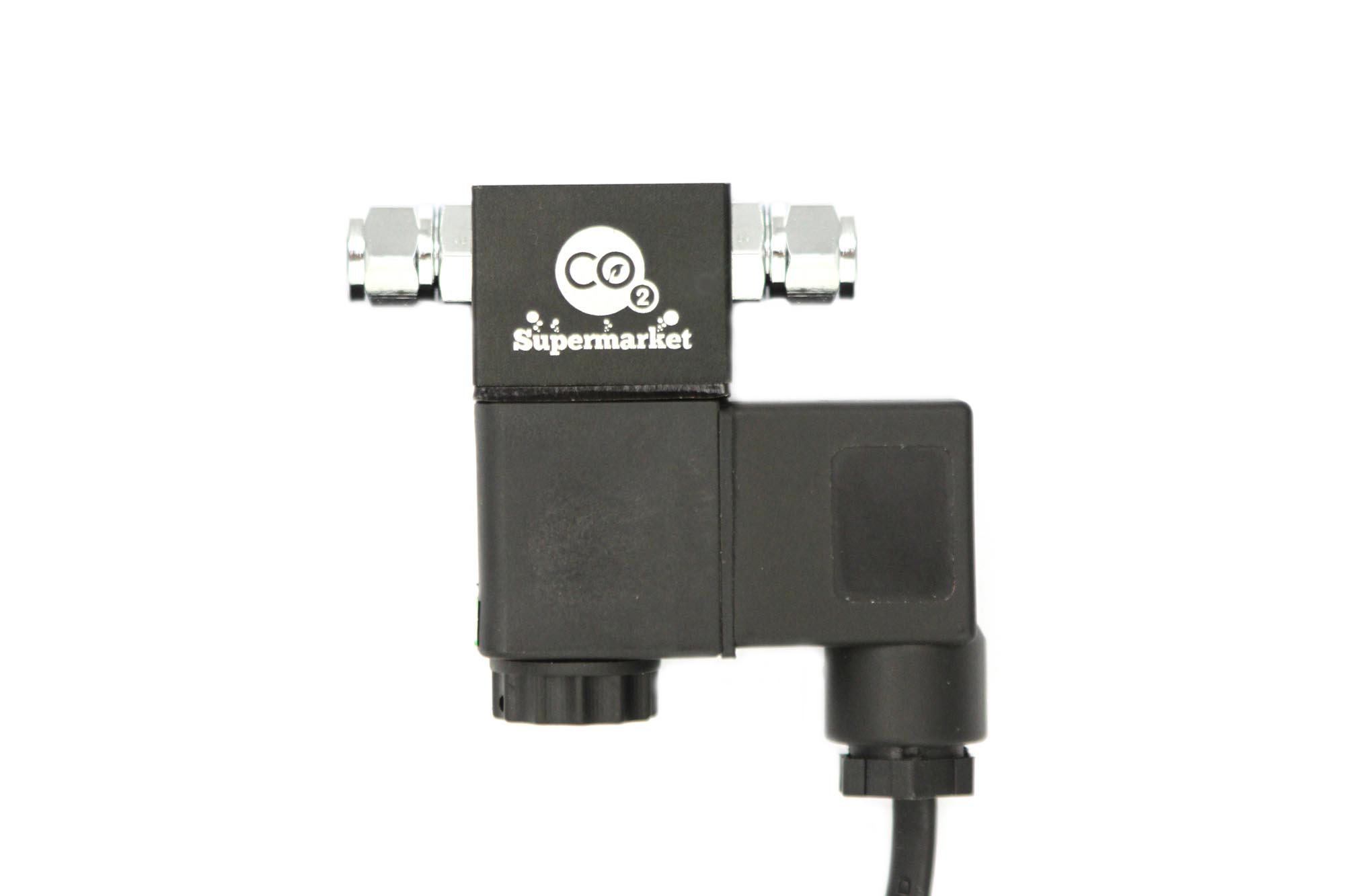 Photo of solenoid for aquarium CO2 systems.